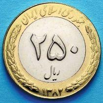 Иран 250 риалов 2003 год. Цветок лотоса.