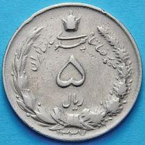 Иран 5 риалов 1958 год.