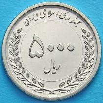 Иран 5000 риалов 2018 год. 50 лет Иранскому рынку капитала.