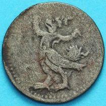 Камбоджа 2 пе (1/2 фаунга) 1880 год. №3