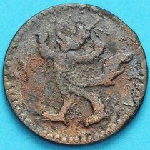 Камбоджа 2 пе (1/2 фаунга) 1880 год. №2