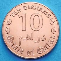 Катар 10 дирхам 2016 год.