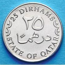 Катар 25 дирхам 2012 год.
