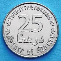 Катар 25 дирхам 2016 год.