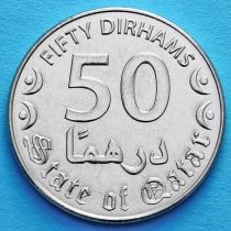 Катар 50 дирхам 2016 год.