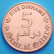Катар 5 дирхам 2016 год.