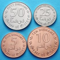 Катар набор 4 монеты 2016 год.