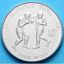 Южная Корея 2000 вон 1986 год. Бокс.