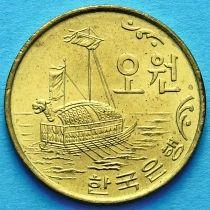 Южная Корея 5 вон 1971-1982 год. Кобуксон.