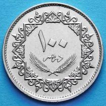 Ливия 100 дирхам 1979 год.