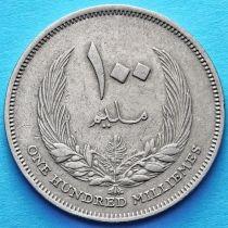 Ливия 100 милльем 1965 год.