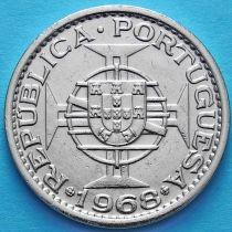 Макао Португальский  1 патак 1968 год.