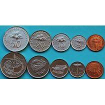 Малайзия набор 5 монет 2005-2011 год.