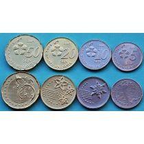Малайзия набор 4 монеты 2014 год.