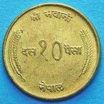 Непал 10 пайс 1972-1974 год.