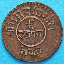 Непал 1 пайс 1925 год  VS1982.