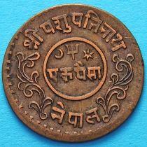 Непал 1 пайс 1940 год  VS1997.