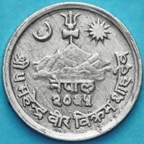 Непал 1 пайс 1968, 1971 год.