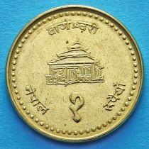 Непал 1 рупия 1996 год.