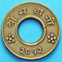 Непал 4 пайса 1955 год.