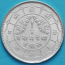 Непал 50 пайс 1940 год. VS1997. Серебро. №2