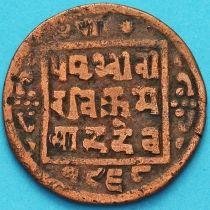 Непал 1 пайс 1911 год. VS1968 - १९६८.
