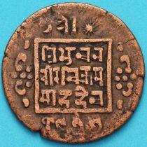 Непал 1 пайс 1920 год. VS1977 - १९७७.
