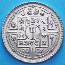 Непал 1 рупия 1977 год.