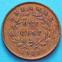 Саравак 1 цент 1929 год. №2