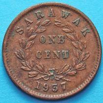 Саравак 1 цент 1937 год. №3