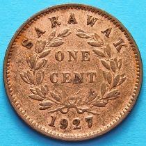 Саравак 1 цент 1927 год. №4