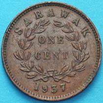 Саравак 1 цент 1937 год. №1