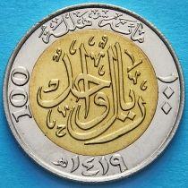 Саудовская Аравия 100 халалов 1998 год.