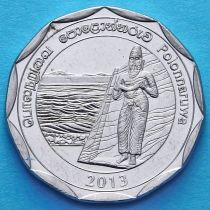 Шри Ланка 10 рупий 2013 год. Полоннарува.