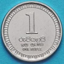 Шри Ланка 1 рупия 2017 год.
