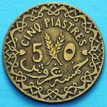 Сирия 5 пиастров 1935 год.