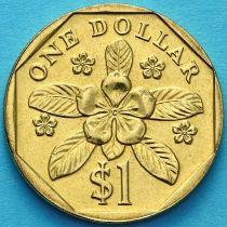 Сингапур 1 доллар 1992-2012 год.