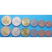 Таиланд набор 6 монет 1988-2008 год
