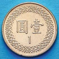 Тайвань 1 юань 2005 год