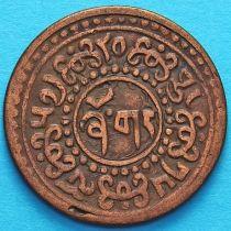 Тибет 1 шо 1923 год. Горизонтальная надпись на реверсе.