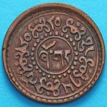 Тибет 1 шо 1926 год. Горизонтальная надпись на реверсе.
