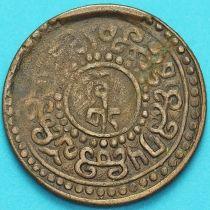 Тибет 1 шо 192? год. Вертикальная надпись.