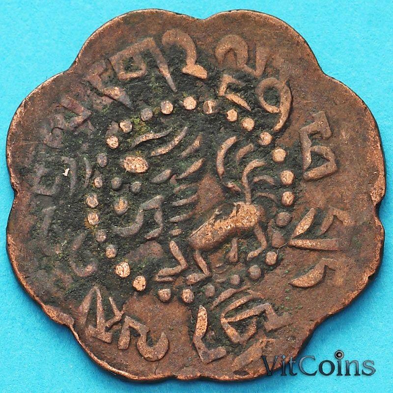 Монета Тибет 7 1/2 скар 1922 год. №2