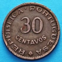 Португальский Тимор 30 сентаво 1958 год.