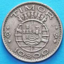 Португальский Тимор 10 эскудо 1970 год. Из обращения.