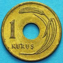 Турция 1 куруш 1948 год.