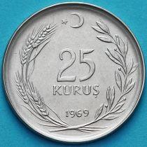 Турция 25 курушей 1969-1974 год.