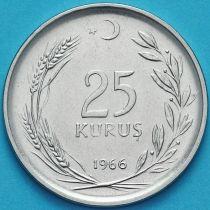 Турция 25 курушей 1966 год.
