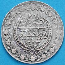 """Турция, Османская империя 20 пара 1808 год. Серебро. """"٢٩"""" (29)"""