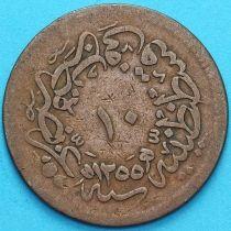 Турция, Османская империя 10 пара 1839 год.